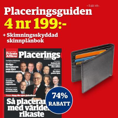 Placeringsguiden + skimningsskyddad plånbok